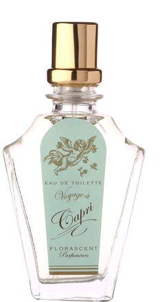Florascent Parfumeurs Parfum de Poche Voyage à Capri Eau de Toilette 15ml
