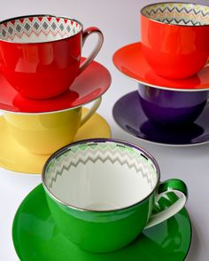 T2 Teas - Jumbo Cups - Laura Blythman Studio// I want this to my future home!! Just too much fun for tea. Big fan of T2 Tea Brand
