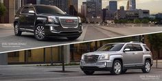 An elevated view of the next premium #GMC SUV: The 2016 Terrain. Learn more: http://s.gmc.com/jyE  LOVE this!