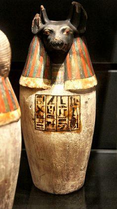 Canopic jar, Duamutef, son of Horus