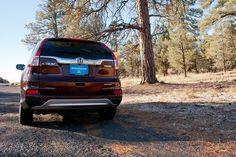 The CR-V loves the wilderness as much as you do.