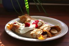 Healthy Pancakes! Love this new recipe from Blogilates Cheap Clean Eats