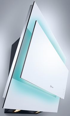 The Bauknecht designer cooker hood, Ambient Light DWGR EW 9880 not only provides fresh air in the kitchen, but also helps you create the ambience with its softly colored LED lights,