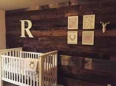Pinterest inspired rustic nursery