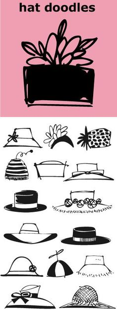 Hat Doodles-- from silly to sophisticated, a collection of 30 women's hats. From a Summer Garden Party to the Kentucky Derby there is a hat for all occasions. Also take a peek at Diva Doodles and Diva Doodles Too for more women's fashions in the same casual style. Chanel lipstick Giveaway