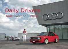 2015 Daily Drivers Wall Calendar by Audi Tradition