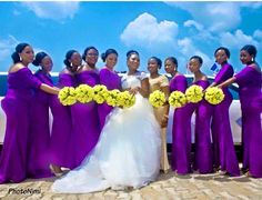 Presents Hottest Bridesmaids Dress Colors & Styles For Spring/ Summer & Fall 2015 Nigerian Wedding Presents 400 Hottest Bridesmaids Dress Colors. African Bridesmaid Dresses, Beach Wedding Bridesmaid Dresses, African Wedding Dress, Bridesmaid Dress Colors, Wedding Attire, Wedding Gowns, Party Gowns, Maid Of Honour Dresses, Maid Of Honor