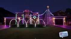 "GOING HAM ON THE CHRISTMAS LIGHTS: HOUSE IN PERTH, AUSTRALIA LIGHTS UP TO ""GANGNAM STYLE"" 
