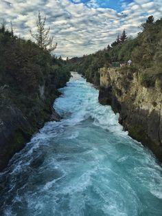 Huka Falls, Taupo.     Pinterest.strivetobefree.com