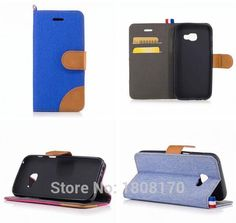 >> Click to Buy << Canvas Jean Wallet Leather Case For Samsung Galaxy 2017 J3 Emerge J5 Prime A3 A5 Sony Xperia XZ X Compact Stand Skin Cover 1pcs #Affiliate