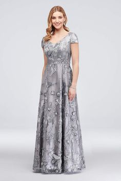 13c83ed9d54 View Long Alex Evenings Dress at David s Bridal