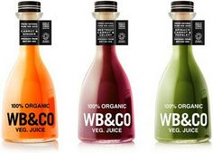 WB & CO organic vegetable juice