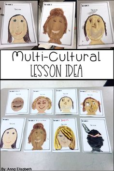 Check out this low prep multi cultural craft for kids. I used this lesson with my students to help them examine issues surrounding skin color and race. It went perfectly with the lesson we did around Martin Luther King Jr. It is an awesome multicultu Diversity Activities, Multicultural Activities, Color Activities, Activities For Kids, Multicultural Classroom, Martin Luther King, Multi Cultural Crafts For Kids, King Craft, King Jr