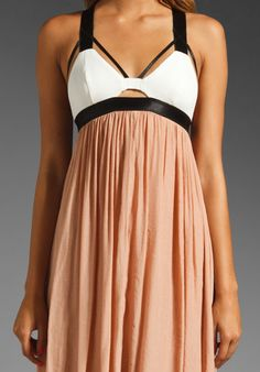 $160 BLESS'ED ARE THE MEEK Aurora Dress in Sand at Revolve Clothing - Free Shipping!