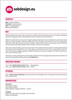 resume design ideas easy with a touch of personality graphic design intern resume