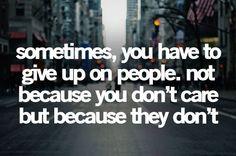 its a tough truth
