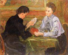 Émilie Charmy Card Players