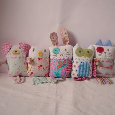 Softie friends by Roxy Creations, via Flickr