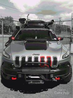 A super Jeep Cherokee for going Sahara only. #jeep #cherokee #saharajeep