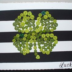 This is such a cool and simple St. Patrick's Day craft for kids. It's also super inexpensive... pretty lucky!