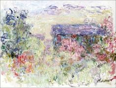 bofransson:    Claude Monet-The House Through the Roses