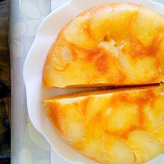 痛みかけの梨を使って作りました(ノ´∀`*)上手くて来たと思います - 6件のもぐもぐ - 梨のケーキ by ユイ