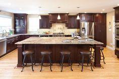 Showplace Wood Cherry Kitchen traditional-kitchen