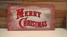 Pallet wood christmas sign Pallet Wood Christmas, Christmas Signs Wood, Wood Pallets, Merry, Projects, Home Decor, Log Projects, Blue Prints, Decoration Home