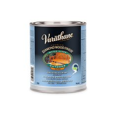 Use Varathane® wood finishes to get the look of a professional finish without paying a professional.