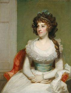 Matilda Caroline Cruger, c. 1795  National Portrait Gallery DC   1942.8.13