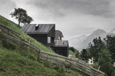 Alpine Cabins designed by Pedevilla Architekten, Strada Pliscia, 13, 39030 Plisa Bolzano, Italy - 2013.