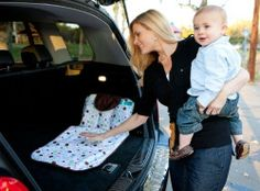 Dipe 'N Go Diaper Changing Station Easily attaches - securely fastens to the wall of your vehicle. Large compartments for diapers, wipes, and ointments. Large changing area - plenty of space for babies of all sizes. Machine washable. #RMI_Enterprises #Baby_Product