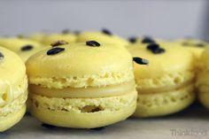 Macarons de maracujá