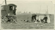 Gypsy`s on Hackney Marshes. London Beyond the Pale. By George R Sims (1902) | Flickr - Photo Sharing!