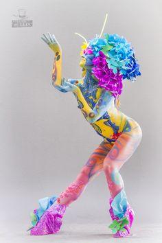 WBF 2014 | SFX Bodypainting Qualification 'Pop Art'  Photography: Atelier 'et Lux' (Eve Lumière), Artist ID231: Dana Zaikovskaia - Russia
