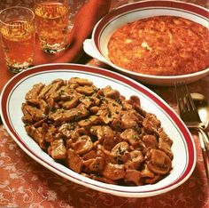 Geschnetzeltes with veal - recipe in English