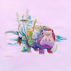 Kimika Hara  is an embroider who is born and lives in Kyoto, Japan. Her series of embroidered animals are made with...
