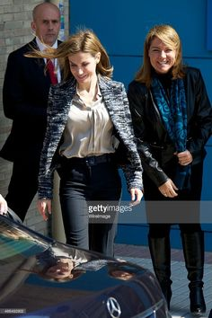 Queen Letizia of Spain attends a meeting with the Board of the 'Foundation UNICEF Cominte Spanish' at UNICEF offices on March 16, 2015 in Madrid, Spain.