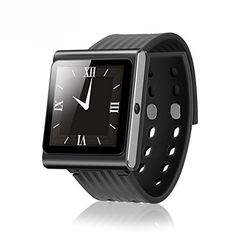 """nice SNEER® """"iWatch"""" Series 2014 Newest Premium Sport Pedometer Smart Watch Qaud Band Watch Touch Screen Mobile Phone Watches Phone Unlocked #SND6 Black"""