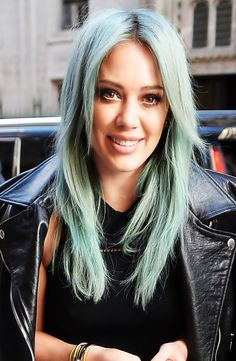 Gorgeous mermaid hair! For more style inspiration, watch Hilary Duff in season 1 of Younger on TV Land at http://www.hulu.com/younger.