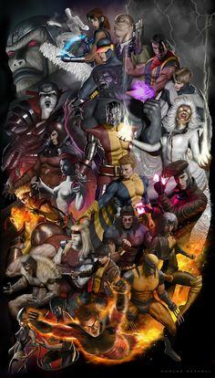 X-Men Good and Evil - Carlos Dattoli