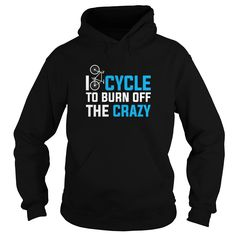 I dont think i cycle enough, I'm definitely still crazy, better just cycle more often