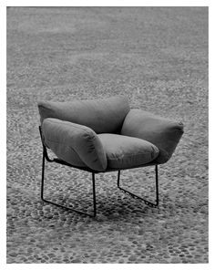 Driade – Elisa Chair by Enzo Mari, originally designed in 1971 re-edition by Driade launching at Salone Del Mobile, Milan 2015 Living Room Furniture, Home Furniture, Modern Furniture, Furniture Design, Sofa Chair, Armchair, Interior Architecture, Interior Design, Design Interiors