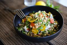 Quinoa Salad with Chicken or Tofu
