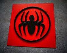 Shipping 50% discount, Superhero Spiderman, Wall art, Kids bedroom wall art