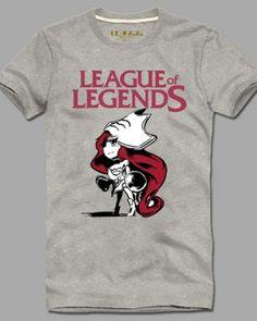 League of Legends tshirt for men XXXL short sleeve Q version Miss Fortune-