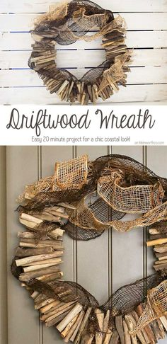 A simple Driftwood W