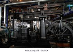 Rolling Mill Engines - The Think Tank Museum In Birmingham Large Stock Photo, Picture And Royalty Free Image. Pic. 49135658