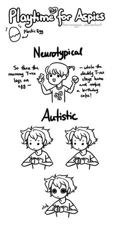 Aspergers: Lol, if it was shiny, the mesmerization would be complete!