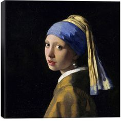 iCanvas Girl With A Pearl Earring by Johannes Vermeer (Canvas)
